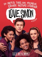Love, Simon - French Movie Poster (xs thumbnail)