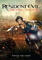 Resident Evil: The Final Chapter - Movie Cover (xs thumbnail)