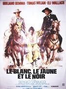 Il bianco, il giallo, il nero - French Movie Poster (xs thumbnail)