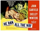 He Ran All the Way - Movie Poster (xs thumbnail)