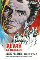 The Barbarians - Spanish Movie Poster (xs thumbnail)