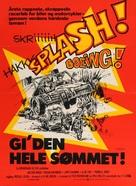 Checkered Flag or Crash - Danish Movie Poster (xs thumbnail)