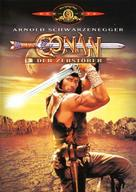 Conan The Destroyer - German Movie Cover (xs thumbnail)