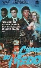 Fear City - Brazilian VHS movie cover (xs thumbnail)