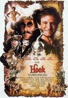 Hook - German Movie Poster (xs thumbnail)