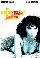 L'été meurtrier - German DVD cover (xs thumbnail)