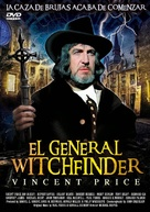Witchfinder General - Spanish DVD movie cover (xs thumbnail)