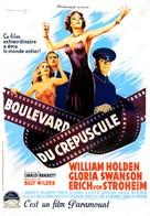Sunset Blvd. - French Movie Poster (xs thumbnail)