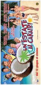 Un'estate ai Caraibi - Italian Movie Poster (xs thumbnail)
