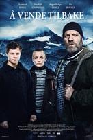 Å vende tilbake - Norwegian Movie Poster (xs thumbnail)