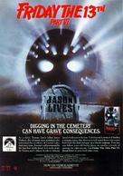 Jason Lives: Friday the 13th Part VI - Movie Poster (xs thumbnail)