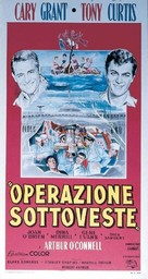 Operation Petticoat - Italian Movie Poster (xs thumbnail)