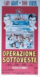 Operation Petticoat - Italian Movie Poster (xs thumbnail)