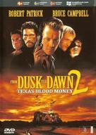 From Dusk Till Dawn 2: Texas Blood Money - Swedish DVD movie cover (xs thumbnail)