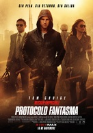 Mission: Impossible - Ghost Protocol - Spanish Movie Poster (xs thumbnail)