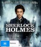 Sherlock Holmes - Australian Blu-Ray movie cover (xs thumbnail)
