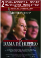 The Iron Lady - Argentinian Movie Poster (xs thumbnail)