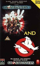 Ghostbusters - British VHS movie cover (xs thumbnail)