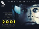2001: A Space Odyssey - British Re-release movie poster (xs thumbnail)