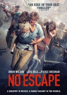 No Escape - Canadian DVD movie cover (xs thumbnail)