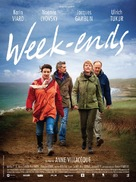 Week-ends - French Movie Poster (xs thumbnail)