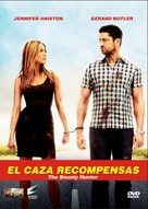 The Bounty Hunter - Argentinian DVD cover (xs thumbnail)
