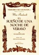 A Midsummer Night's Dream - Spanish Movie Poster (xs thumbnail)