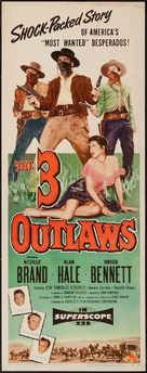 The Three Outlaws - Movie Poster (xs thumbnail)