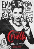 Cruella - Brazilian Movie Poster (xs thumbnail)