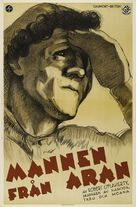 Man of Aran - Swedish Movie Poster (xs thumbnail)