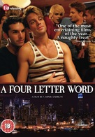 A Four Letter Word - British DVD cover (xs thumbnail)