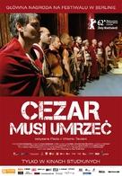 Cesare deve morire - Polish Movie Poster (xs thumbnail)