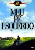My Left Foot - Brazilian DVD movie cover (xs thumbnail)