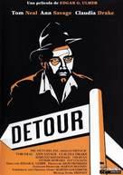Detour - Spanish DVD movie cover (xs thumbnail)