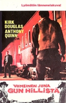 Last Train from Gun Hill - Finnish VHS movie cover (xs thumbnail)