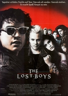 The Lost Boys - German Movie Poster (xs thumbnail)
