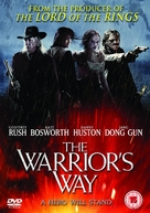 The Warrior's Way - British DVD movie cover (xs thumbnail)