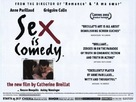 Sex Is Comedy - British Movie Poster (xs thumbnail)