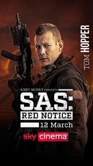 SAS: Red Notice - British Movie Poster (xs thumbnail)
