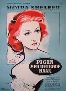 The Man Who Loved Redheads - Danish Movie Poster (xs thumbnail)