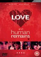 Love & Human Remains - British Movie Cover (xs thumbnail)