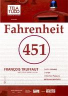 Fahrenheit 451 - Brazilian Movie Poster (xs thumbnail)