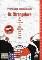 Dr. Strangelove - Turkish DVD movie cover (xs thumbnail)