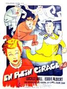 The Fuller Brush Girl - French Movie Poster (xs thumbnail)
