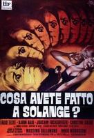 Cosa avete fatto a Solange? - Italian Movie Poster (xs thumbnail)