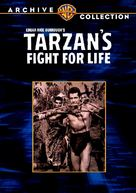 Tarzan's Fight for Life - DVD movie cover (xs thumbnail)