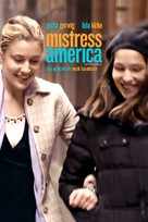 Mistress America - Mexican Movie Cover (xs thumbnail)