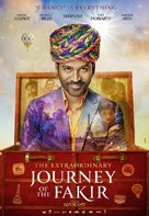 The Extraordinary Journey of the Fakir - Movie Poster (xs thumbnail)