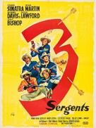 Sergeants 3 - French Movie Poster (xs thumbnail)