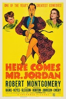 Here Comes Mr. Jordan - Theatrical movie poster (xs thumbnail)